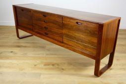 Mid Twentieth Century Design Rosewood Sideboard Credenza by Gunther Hoffstead