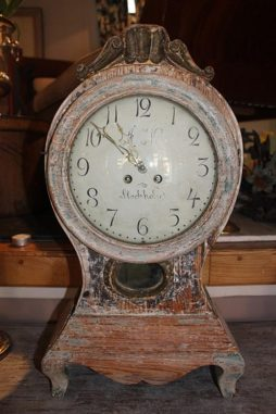 Early 19th Century Swedish Antique Clock