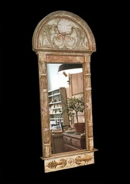 19th Century Swedish Antique Empire Mirror