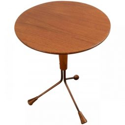 Mid-Century Atomic Table by Albert Larsson for Alberts Tibro of Sweden