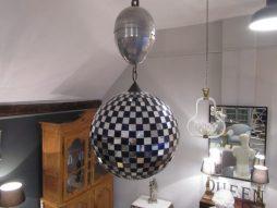 Antique Mirrored Ballroom Glitter Ball with Motor