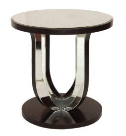Art Deco Style Mirror Glass Table