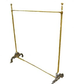 Brass and Iron Bespoke Victorian Hanging Rail -POA