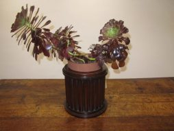 Antique Mahogany Planter