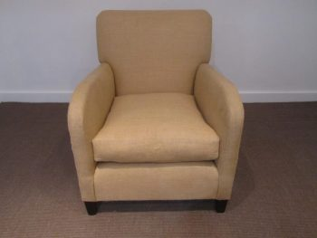 Antique Single English Art Deco Armchair