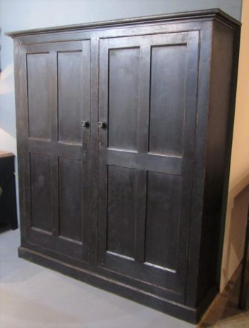 Antique Irish Painted Housekeepers Cupboard