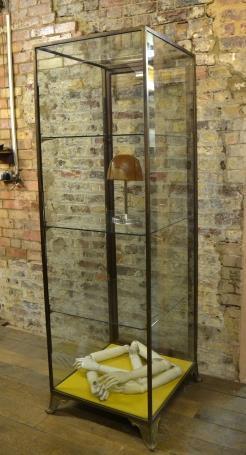 Antique Bronze 1920s Tower Shop Display Unit
