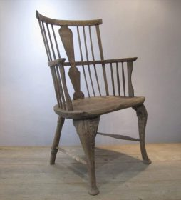 An early Antique 19th Century Windsor Style Provincial Chair