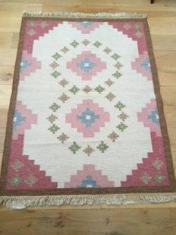 1950's Swedish Flat Weave rug