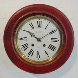075-19th Century French Wall Clock
