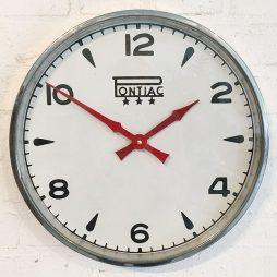 266-Swiss Advertising Clock