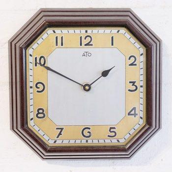 287-French Art Deco Wall Clock