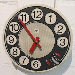 140-French Retro Clock
