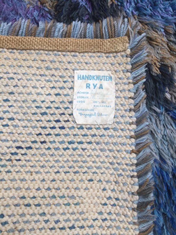Ingegerd Silow Hand Knotted Rya Rug Interior Boutiques