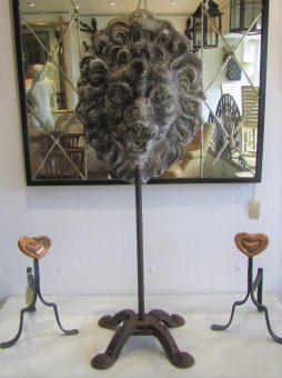 Antique Lion Mask Fountain Head