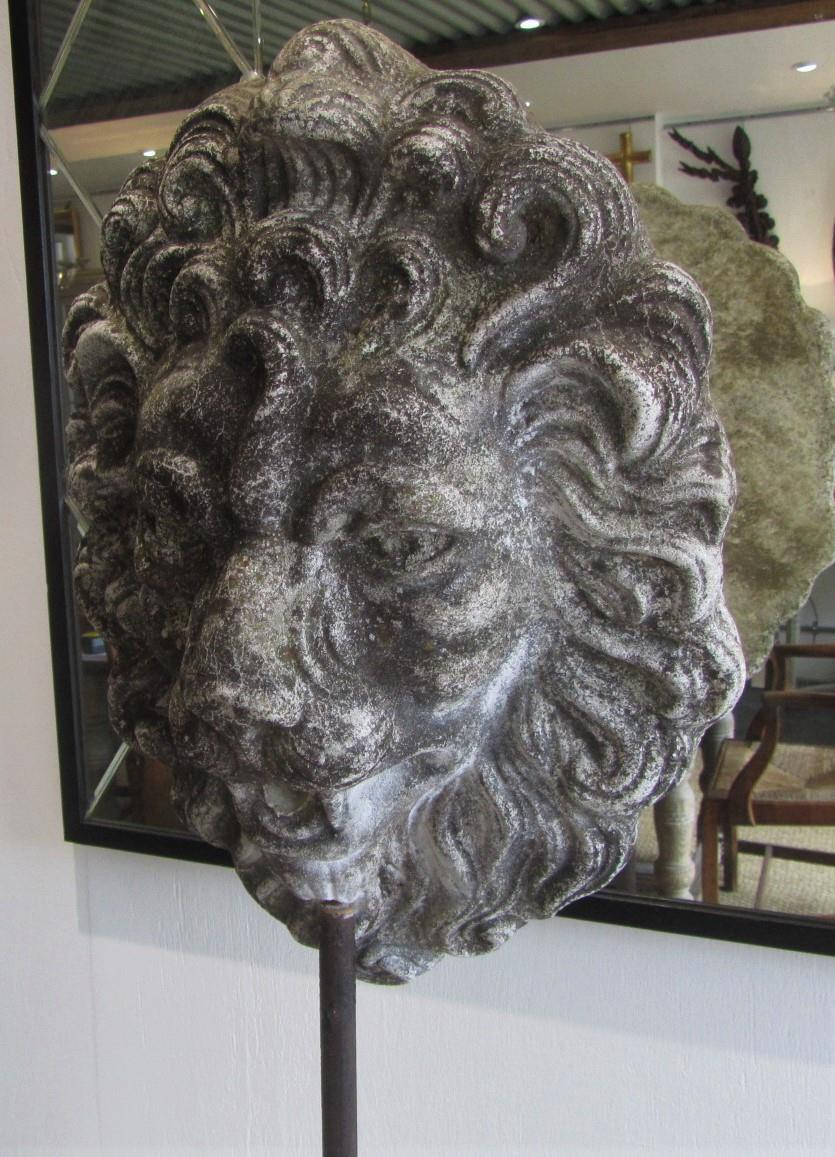 Antique Lion Mask Fountain Head Interior Boutiques Antiques For Sale And Mid Century Modern