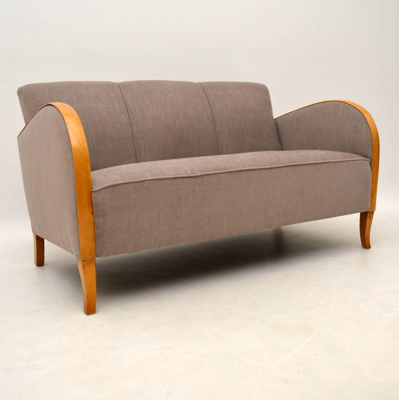 Swedish Art Deco Satin Birch
