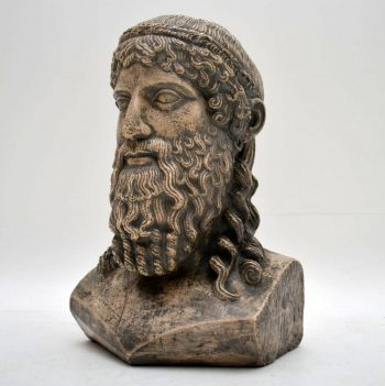 Antique Classical Bust – Possibly Poseidon