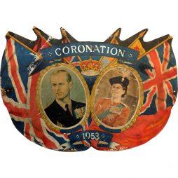 Original British Coronation Sign from 1953