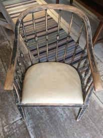 Antique Swedish Fabulous Country House Chair