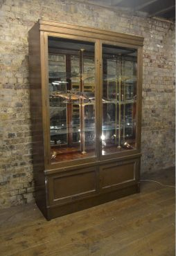 Bronze Shop Display Cabinet