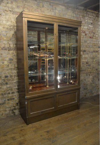 Bronze Shop Display Cabinet
