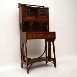 Antique Mahogany Arts & Crafts Writing Bureau – Liberty