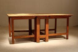 18th Century Swedish Painted Gate Leg Table