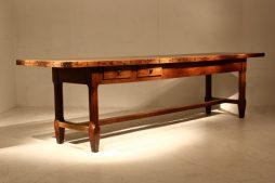 Large 18th Century Oak Farmhouse Table