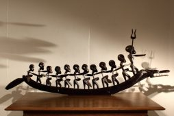 1970s Large African Boat Carving