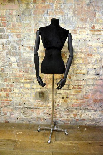 Pair of Black Atrezzo Mannequins