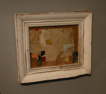 Small Abstract Collage by Huw Griffith