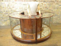 Bespoke Round Shop Display Cabinet