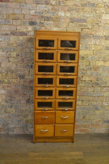 1930s Drapers Haberdashery Cabinet