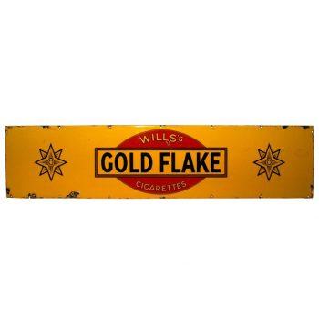 Wills Gold Flake Advertising Enamel Sign