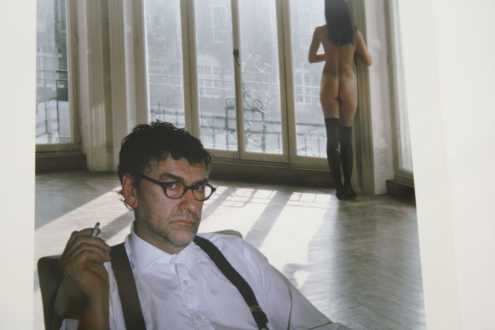 Original Photo Of Jack Vettriano By Photographer John