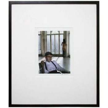 Original Photo of Jack Vettriano by Photographer John Swannell