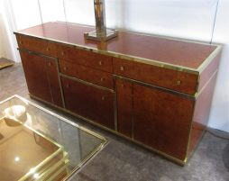 Italian Burr Walnut Sideboard
