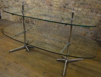 Large Two Layered Shop Display Table