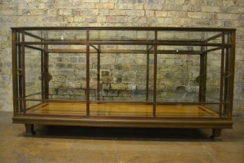 French 1910s Bronze Shop Display Counter