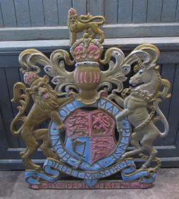 A cast iron Royal Warrant