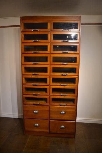 1940s Drapers Haberdashery Cabinet