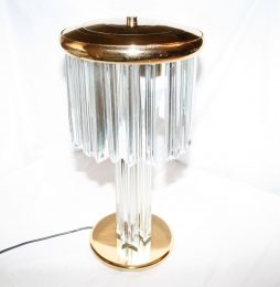 Mid-Century Glass Lamp