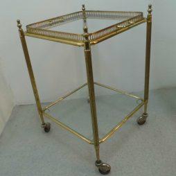 Vintage Brass Trolley