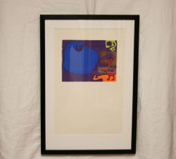 Blue with Lime by Patrick Heron