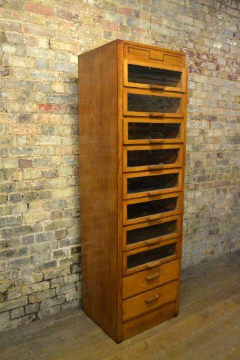 Vintage Single Stack Drapers Haberdashery Shirt Cabinet