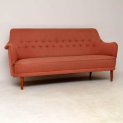 1960's Vintage Swedish 'Samsas' Sofa by Carl Malmsten