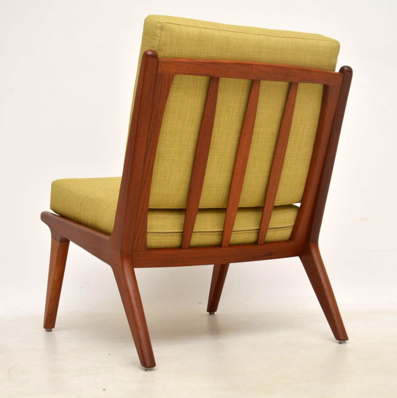 1960 S Danish Teak Vintage Slipper Chair