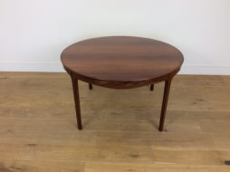 MID CENTURY ROSEWOOD TABLE by Ole Wanscher