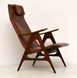 1950's Dutch Vintage Armchair by Louis Van Teeffelen